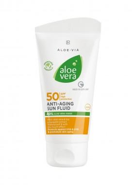 Aloe Vera Anti-Aging Sonnenfluid LSF 50