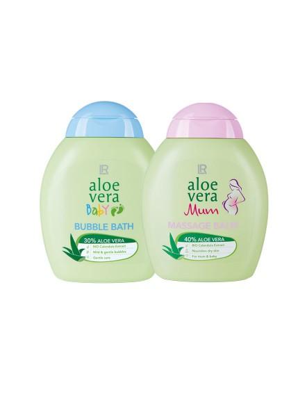 Pflege Aloe Vera Baby & Mum Relaxing Set