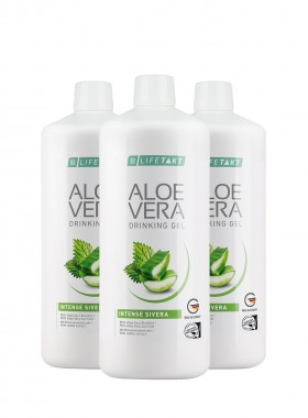 Aloe Vera Drinking Gel Intense Sivera 3er Set