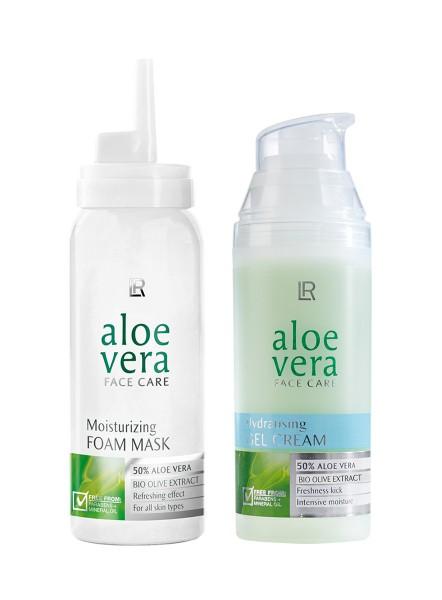 Gesichtspflege Aloe Vera Face Care Set
