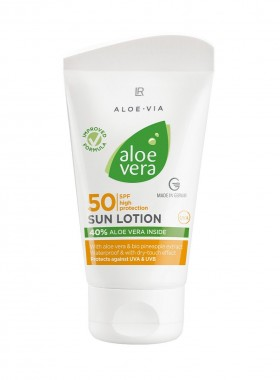 Aloe Vera Sonnenlotion LSF 50