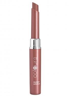 LR colours Glossy Lipstick - Crystal Caramel