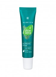 LR ALOE VIA Aloe Vera Nordic Pine Lippen-Balsam