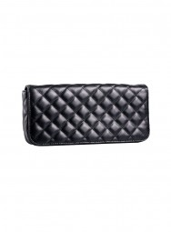 LR Damen Leder-Clutch