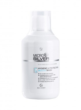 LR MICROSILVER PLUS schützende Mundspülung